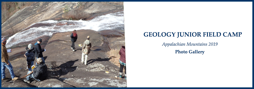 GEOLOGY JUNIOR FIELD CAMP